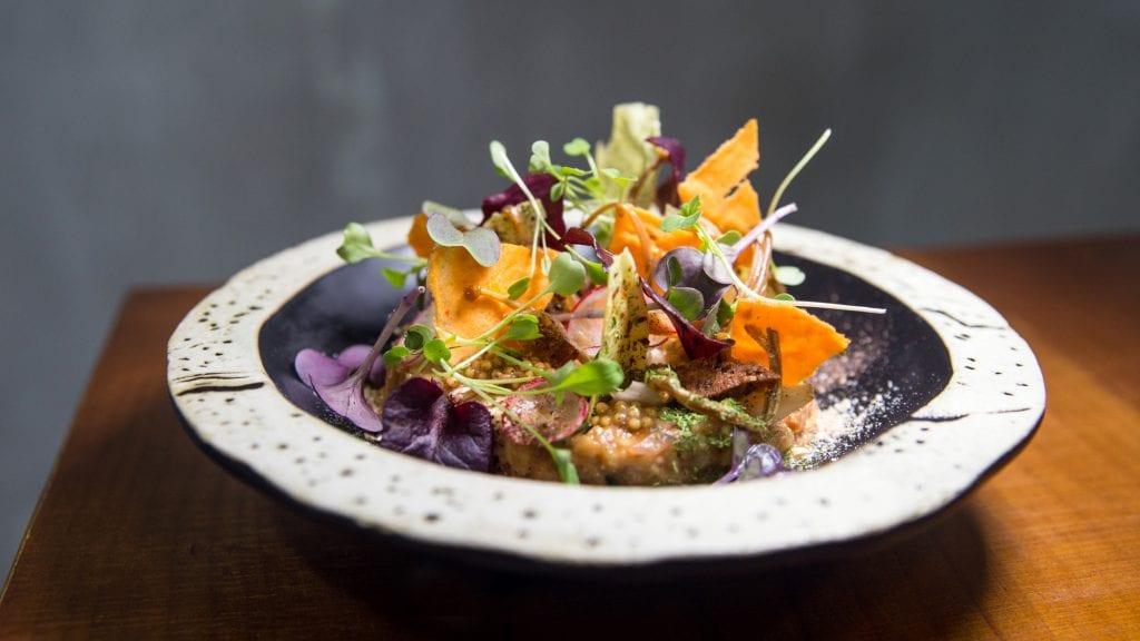 Plateselector - Berenjena del Restaurante Quina de Valencia