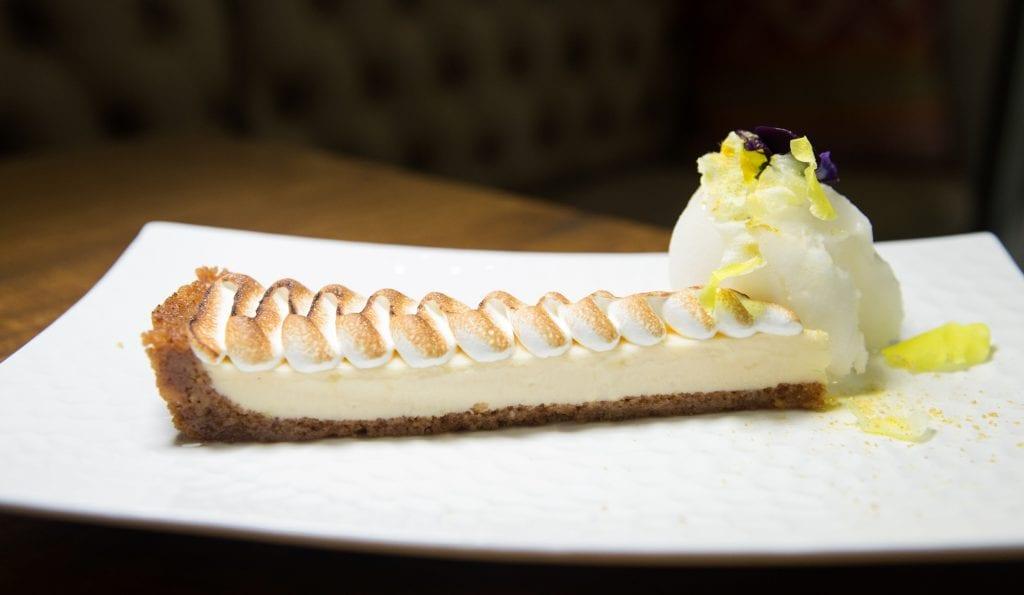Plateselector - Pie de limón del Restaurante Quina de Valencia