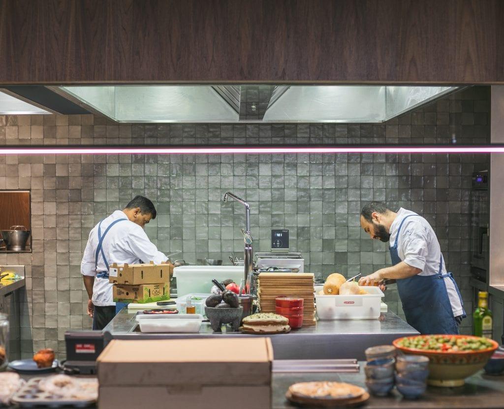 Plateselector - Equipo del restaurante Les Filles de Barcelona