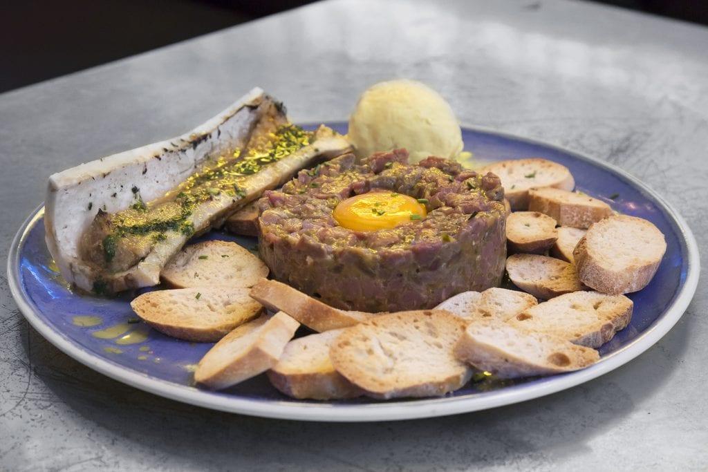 Plateselector - Tartar del Restaurante Amargo