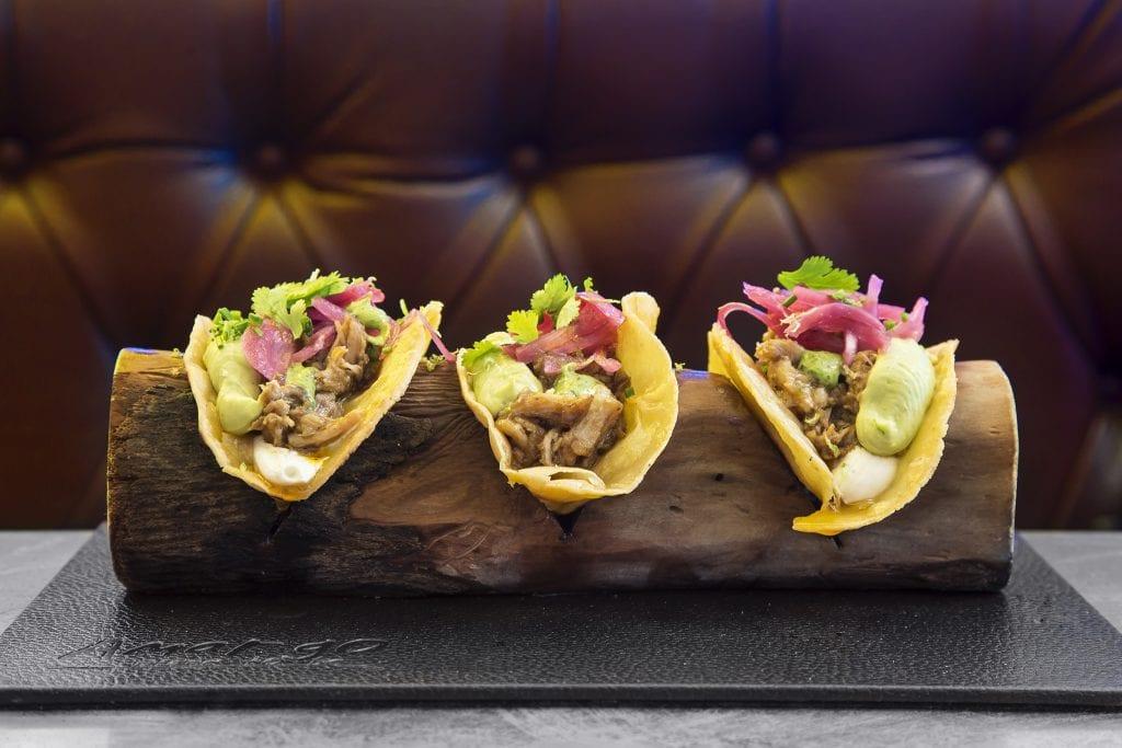Plateselector - Tacos del Restaurante Amargo