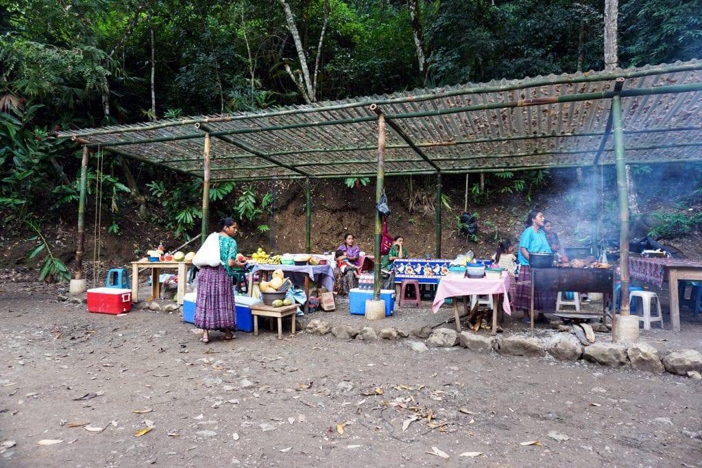 Plateselector - Plan-D Guatemala Buffet en semuc champey