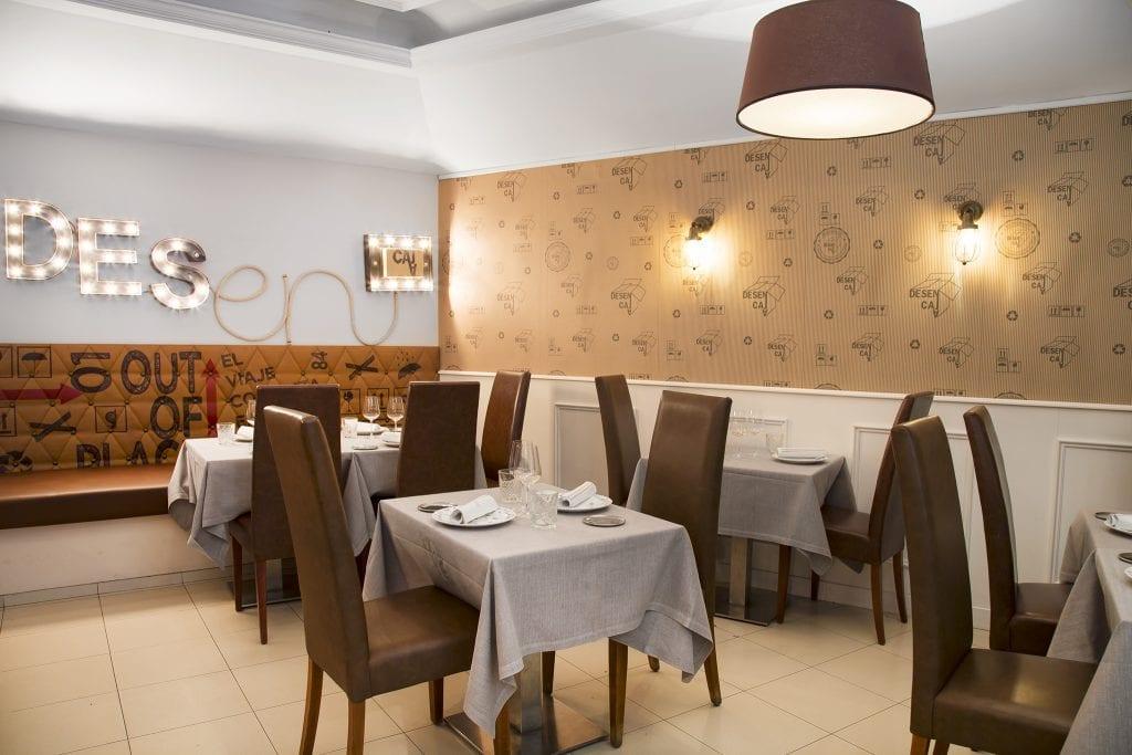 Plateselector - Local del Restaurante Dsncj Bistró de Madrid
