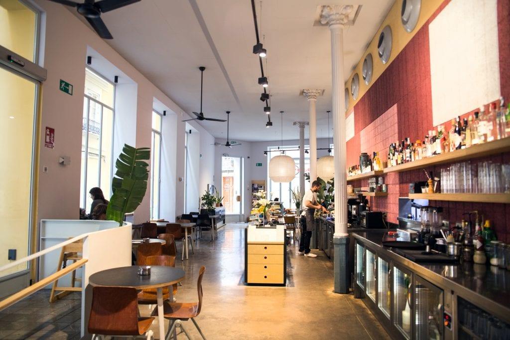 Plateselector - Local de Federal Café de Valencia